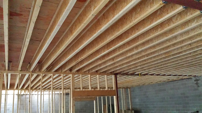 I-Joist for Commercial Project in Erie, PA